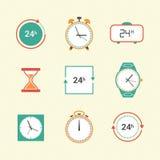 Pictogrammes de temps Photographie stock