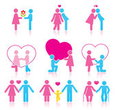 Pictograms Stock Image