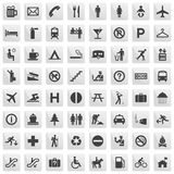 pictograms Arkivbilder