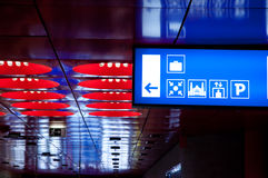 Pictograms at Railway Station Stock Images