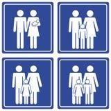 pictograph семьи Стоковое фото RF