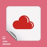 Pictograph of cloud Stock Images