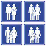 Pictograph; Family Royalty Free Stock Photo