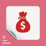 Pictograph of money Stock Photos