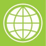 Pictographe de globe Images stock