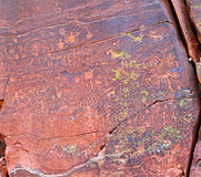 Pictographs Stock Images