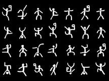 Pictographs, icons Stock Image