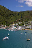 Picton harbour Royalty Free Stock Photos