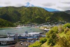Picton Harbour and Marina Royalty Free Stock Images