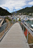 Picton Marina, Marlborough, New Zealand Royalty Free Stock Photo
