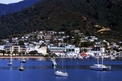 Picton, New Zealand Stock Photo