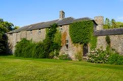 Picton-Schloss in Haverfordwest - Wales, Vereinigtes Königreich Lizenzfreies Stockbild