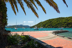 Picton on South island of New Zealand Royalty Free Stock Photography