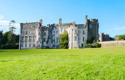 Pictonkasteel in Haverfordwest - Wales, het Verenigd Koninkrijk royalty-vrije stock foto's