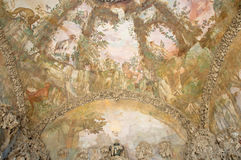 Pictorial artistic background, Buontalenti Grotto, Florence Royalty Free Stock Image