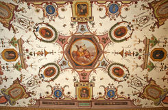 Pictorial artistic background from Uffizi Gallery, Florence, Italy Royalty Free Stock Image