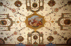 Pictorial artistic background from Uffizi Gallery, Florence, Italy Stock Photo