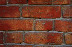 Pictorial bricks. Red bricks Stock Photo