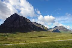 Pictorial Buachaille Etive Mor Stock Photo