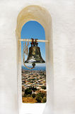 Pictorial Greece. View of Kalimnos island from bell tower Royalty Free Stock Photography