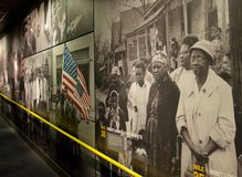 Free Pictorial History Of African Americans Inside The National Civil Rights Museum At The Lorraine Motel Stock Image - 54228211