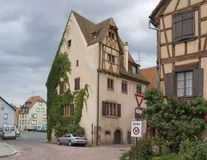Pictorial house in Selestat Royalty Free Stock Photos