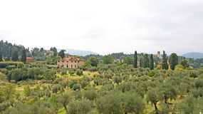 Pictorial landscape of Tuscany, Italy Royalty Free Stock Photography
