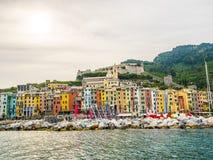 Pictorial Liguria - Portovenere, Cinque terre, Italy Royalty Free Stock Image