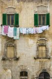 Pictorial old building of Italian villages. Pictorial old buiding of Italian villages in Abruzzi, Italy Stock Photos