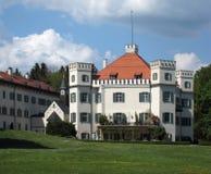 Pictorial Schloss Possenhofen Stock Image