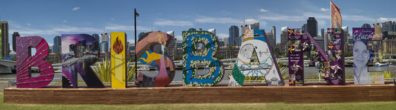 Pictorial Sign, Brisbane G20 Conference Stock Photography