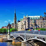 Pictorial  Stockholm Stock Photos