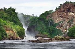 Pictorial view of the Murchison Falls Royalty Free Stock Photos