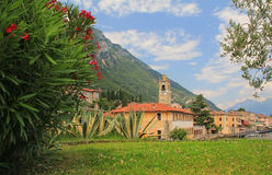 Pictorial village gargnano, lago die garda Royalty Free Stock Photography