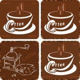 pictos coffe Стоковое Изображение RF