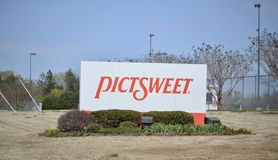 Pictsweet Vegetable Company royalty free stock image