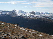 picttundra för 4857 alpin berg Royaltyfri Bild