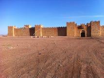 Pictuer de kasabah du Maroc Image libre de droits