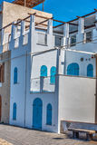 Pictuerque house in Alghero seafront Royalty Free Stock Photography