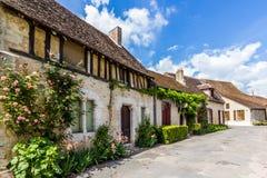 Pictuesque法国人村庄 库存图片