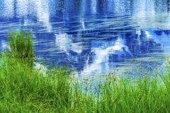 Picture湖登上Shuksan反射华盛顿美国 免版税库存图片