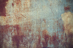 Picture of abstract wallpaper old iron rusty grunge background Stock Images