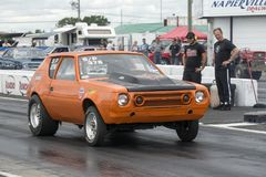 Gremlin on the track Stock Photo
