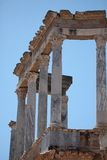 Picture of an ancient roman temple en Merida, Spain Stock Photography