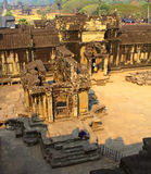 Picture of Angkor Wat Royalty Free Stock Photos
