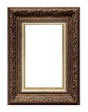 Picture antique frame isolated Royalty Free Stock Image