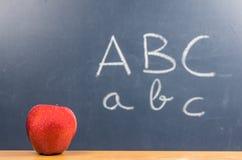 Apple ABC Royalty Free Stock Image