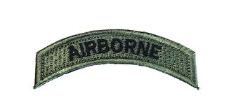 Airborne patch, Philippines, Isolated royalty free stock photography