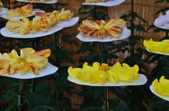 The art of Japanese chrysanthemum, Kyoto Japan. Royalty Free Stock Photo