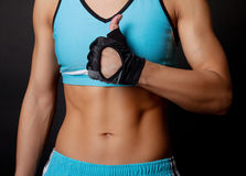 Picture of athletic torso Royalty Free Stock Image
